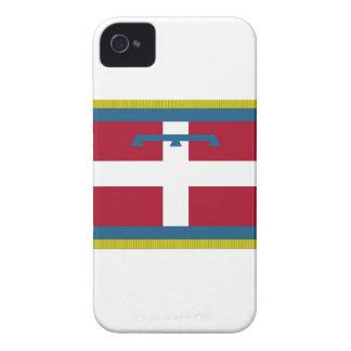 Bandera de Piamonte (Italia) iPhone 4 Case-Mate Fundas