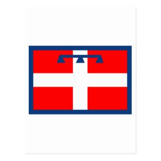 Bandera de Piemonte Postal
