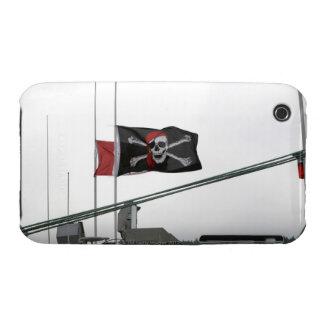 Bandera de pirata al aire libre Case-Mate iPhone 3 carcasa