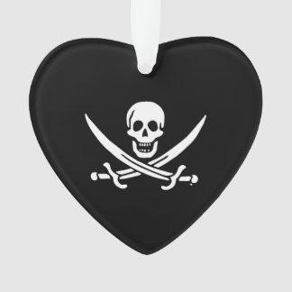 Bandera de pirata alegre de Rogelio