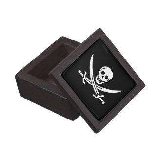 Bandera de pirata alegre de Rogelio Cajas De Recuerdo De Calidad