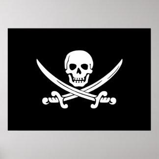 Bandera de pirata alegre de Rogelio Impresiones