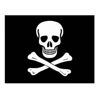 Bandera de pirata alegre de Rogelio Postales