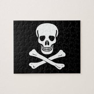 Bandera de pirata alegre de Rogelio Puzzles