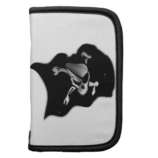 Bandera de pirata alegre de Rogelio que agita Organizador