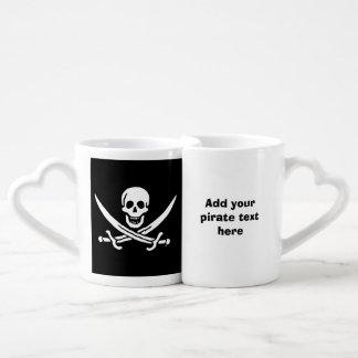 Bandera de pirata alegre de Rogelio Taza Para Parejas