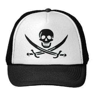 Bandera de pirata auténtica de Jack Rackam Gorro De Camionero