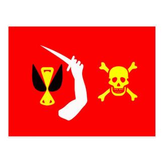 Bandera de pirata cambiante de Christopher Postal