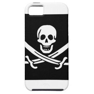 Bandera de pirata de Jack Rackham Funda Para iPhone SE/5/5s