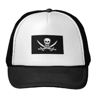 Bandera de pirata de Jack Rackham Gorras