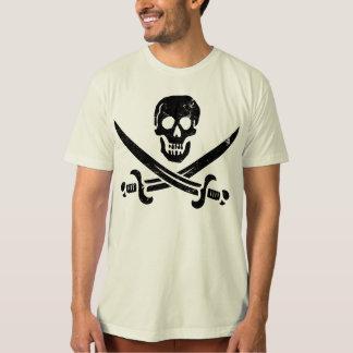 Bandera de pirata de Juan Rackham (calicó Jack) Polera