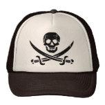 Bandera de pirata de Juan Rackham (calicó Jack) Ro Gorra