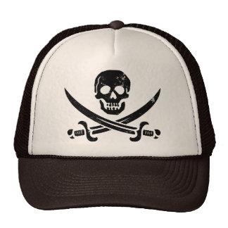 Bandera de pirata de Juan Rackham (calicó Jack) Ro Gorro