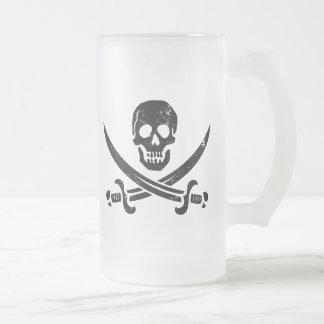 Bandera de pirata de Juan Rackham (calicó Jack) Ro Taza