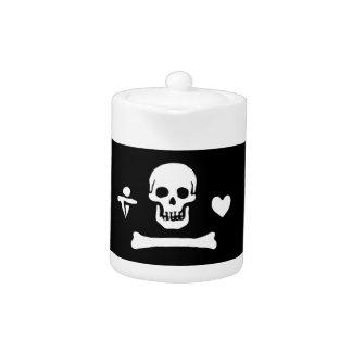 Bandera de pirata del capo de Stede