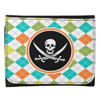 Bandera de pirata en el modelo colorido de Argyle