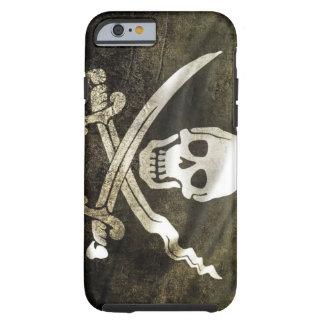 Bandera de pirata funda de iPhone 6 tough