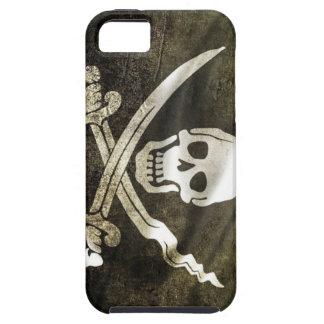 Bandera de pirata iPhone 5 Case-Mate protector