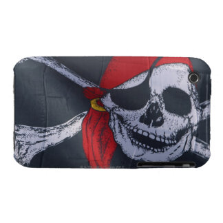 Bandera de pirata Case-Mate iPhone 3 carcasa