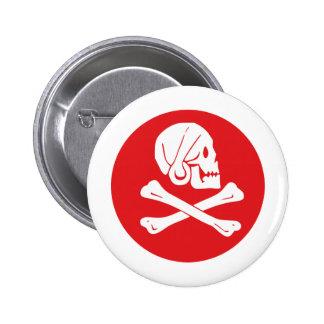 Bandera de pirata pin