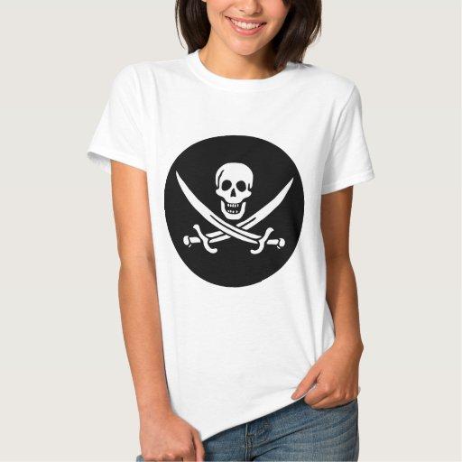 Bandera de pirata poleras