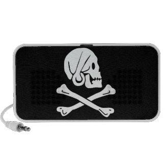 Bandera de pirata - Rogelio alegre Altavoz De Viaje