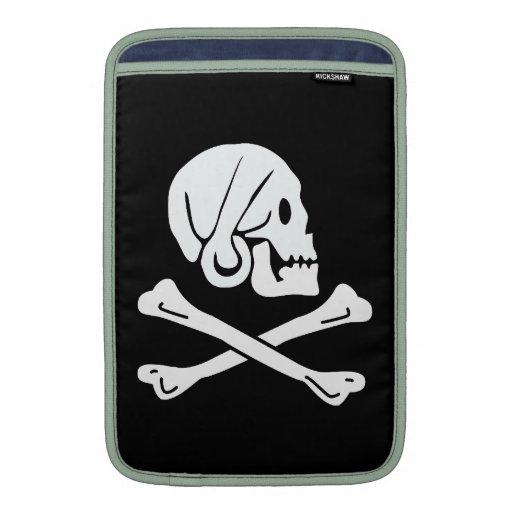 Bandera de pirata - Rogelio alegre Fundas Para Macbook Air