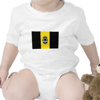 Bandera de Pittsburgh Trajes De Bebé