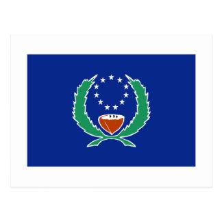 Bandera de Pohnpei Postales