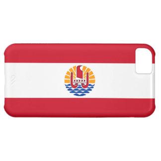Bandera de Polinesia francesa Funda Para iPhone 5C