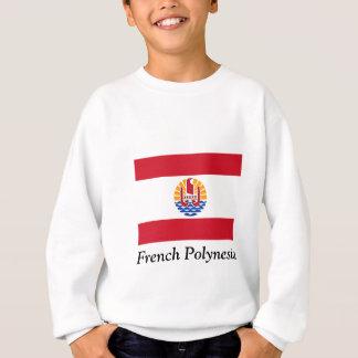 Bandera de Polinesia francesa Remeras
