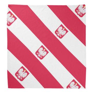 Bandera de Polonia Bandana
