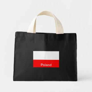 Bandera de Polonia Bolsa Tela Pequeña