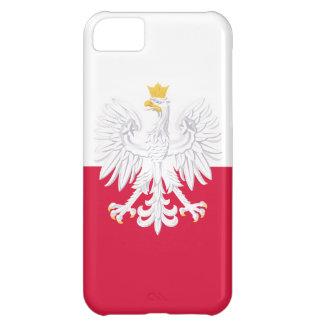 Bandera de Polonia Funda Para iPhone 5C