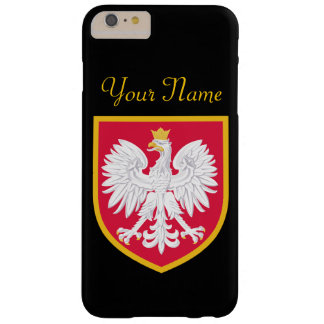 Bandera de Polonia Funda Para iPhone 6 Plus Barely There