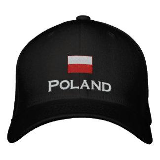 Bandera de Polonia Gorro Bordado