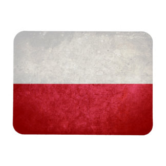 Bandera de Polonia Imán Flexible