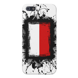 Bandera de Polonia iPhone 5 Carcasa