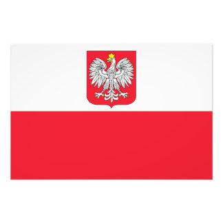 Bandera de Polonia Impresiones Fotográficas