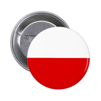 Bandera de Polonia Pin Redondo De 2 Pulgadas