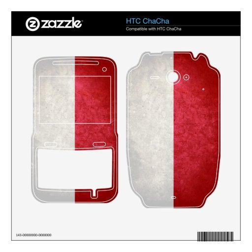 Bandera de Polonia; Poste; Polaco; HTC ChaCha Skin