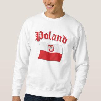 Bandera de Polonia Sudaderas Encapuchadas