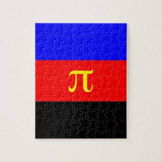 Bandera de Polyamory -- Color del pi 3 Puzzle