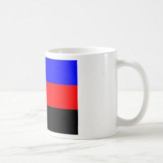 Bandera de Polyamory -- Color del pi 3 Taza
