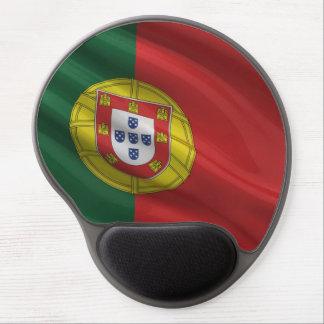 Bandera de Portugal Alfombrilla De Raton Con Gel