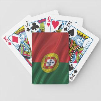 Bandera de Portugal Baraja Cartas De Poker