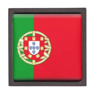 Bandera de Portugal Caja De Regalo De Calidad