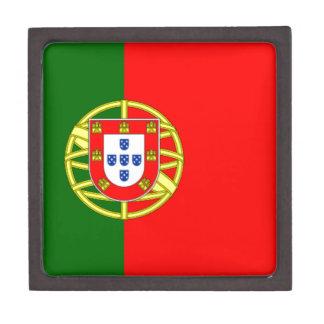 Bandera de Portugal Cajas De Regalo De Calidad