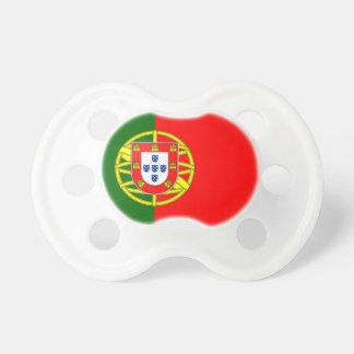 Bandera de Portugal Chupete