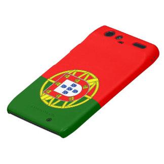 Bandera de Portugal Droid RAZR Carcasas